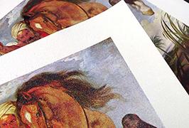 2.5 మి (8 అడుగుల) పర్యావరణ ద్రావణి ప్రింటర్ WER-ES2501 ద్వారా ముద్రించిన ఆయిల్ కాన్వాస్