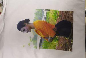 WER-EP6090T ప్రింటర్ నుండి Burma క్లయింట్ కోసం T షర్ట్స్ ముద్రణ నమూనా